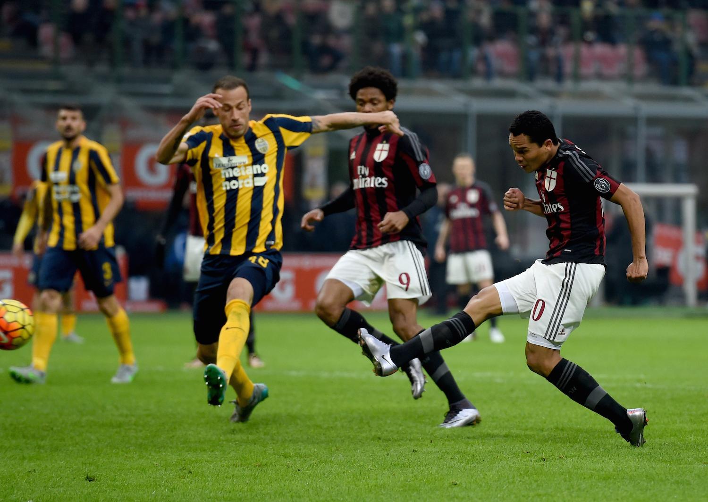 Hellas Verona vs. Milan: Official Lineup