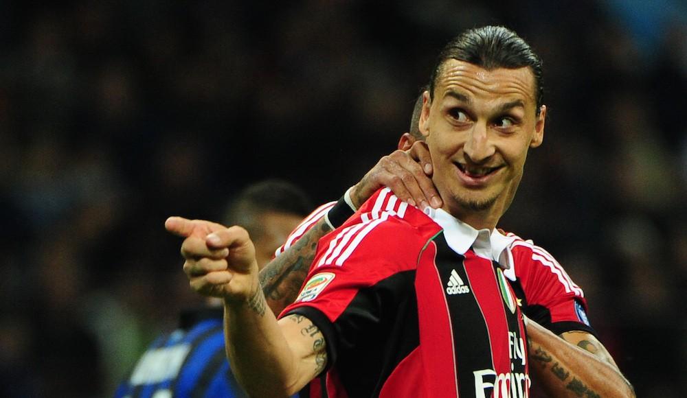 Zlatan linked with sensational San Siro return.   Getty Images
