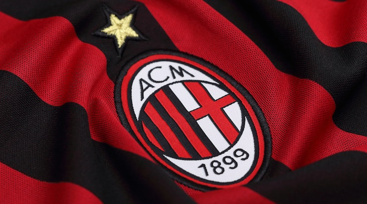 Inter Milan Crest Flag