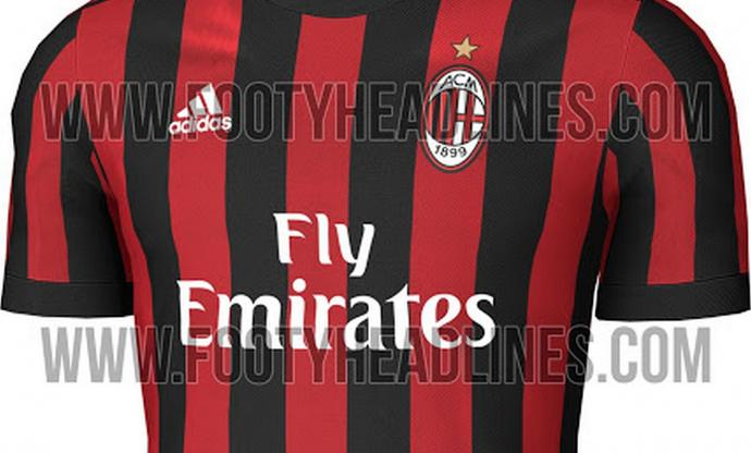 AC Milan's 2017/18 home kit to be presented against Bologna
