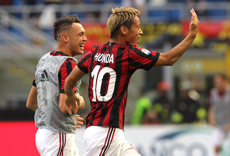Keisuke Honda   Debut with AC Milan 2013-2014  