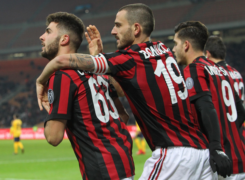 Ac Milan V Hellas Verona Fc Tim Cup Sempremilancom