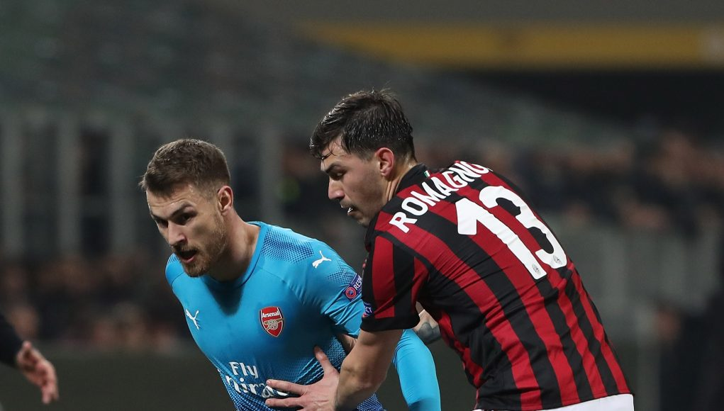 Ramsey Romagnoli Milan