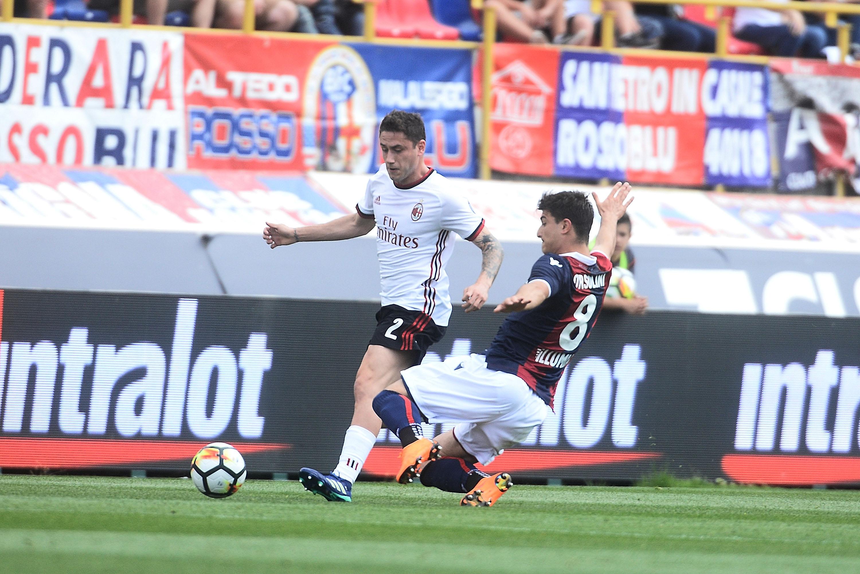 Bologna Fc V Ac Milan Serie A Sempremilancom
