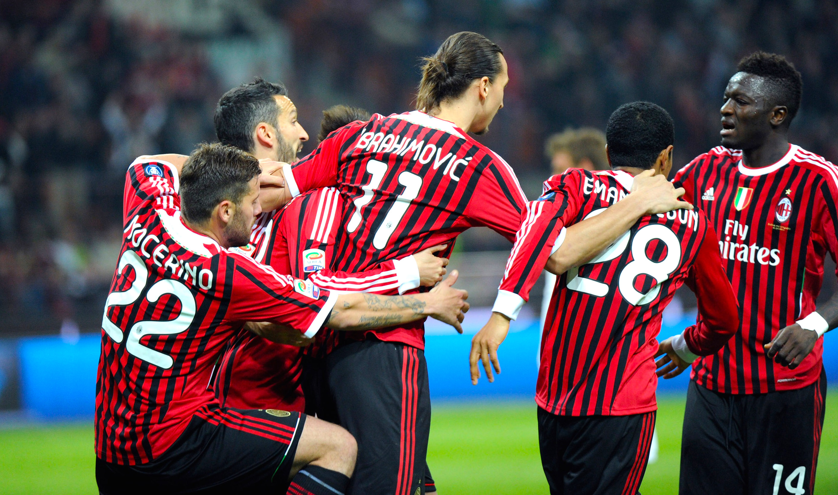 separation shoes 4982e cbda5 Throwback: Zlatan at the double as AC Milan come from behind ...