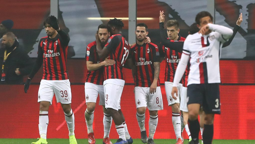 Milan Cagliari