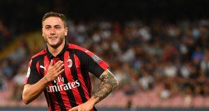 AC Milan defender Davide Calabria