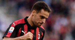 AC Milan's Italian midfielder Giacomo Bonaventura