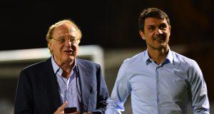 Paolo Scaroni Paolo Maldini AC Milan