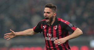 Fabio Borini of AC Milan