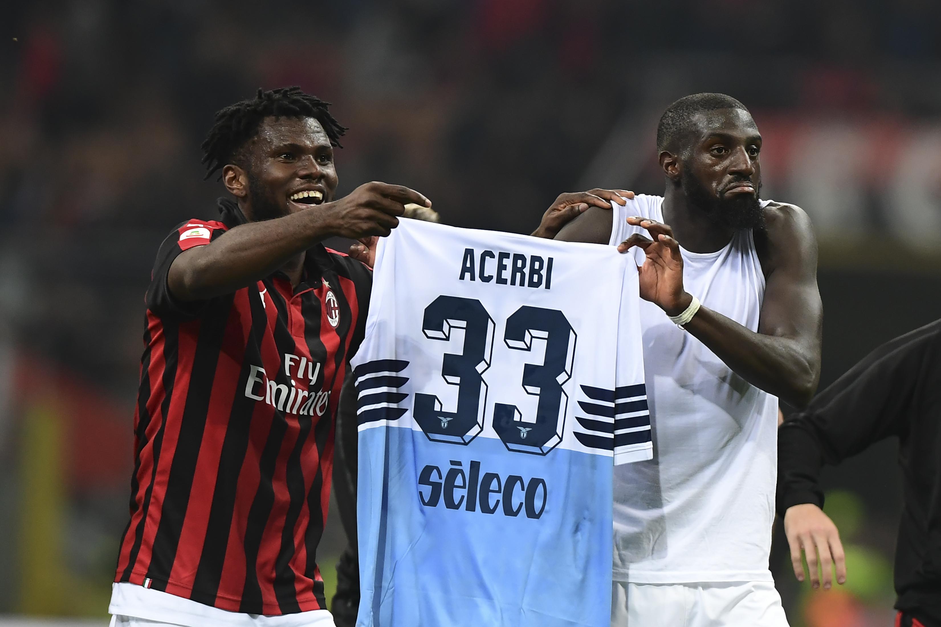 Official: AC Milan release statement following Bakayoko-Kessie ...