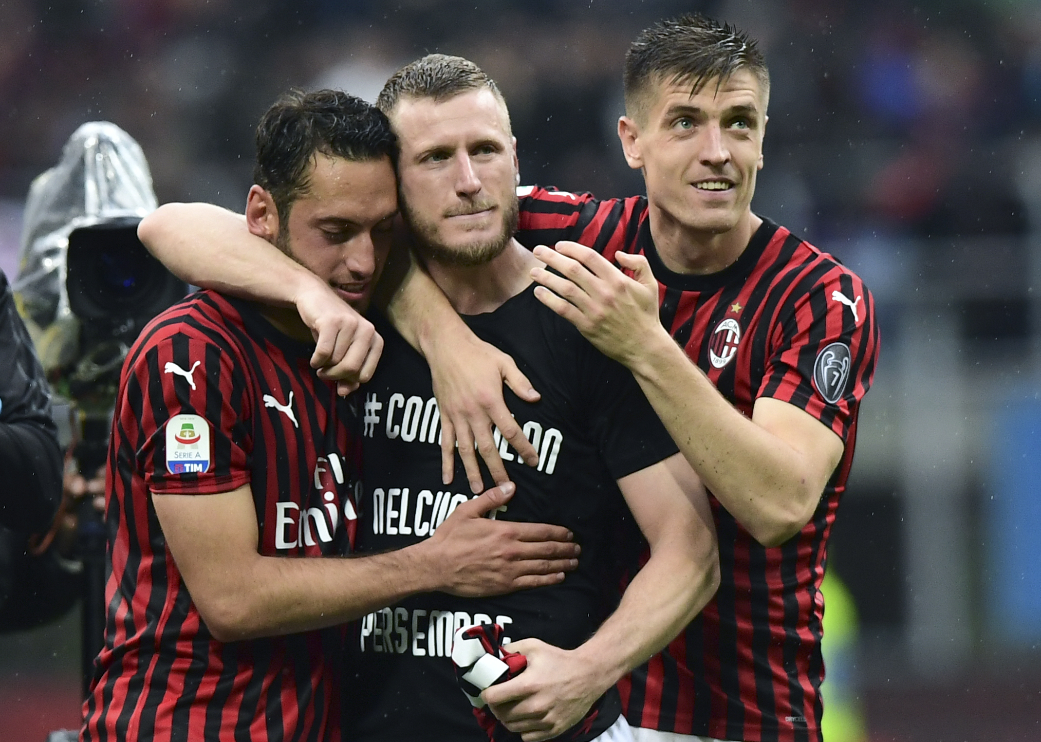 Ignazio Abate sends emotional farewell message to AC Milan fans