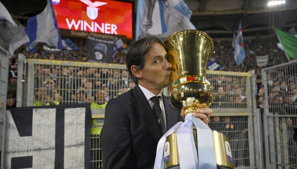 Lazio head coach Simone Inzaghi