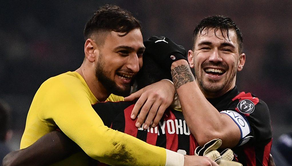 Donnarumma Romagnoli AC Milan