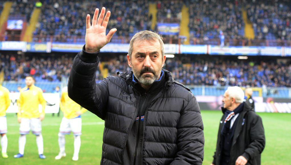 Marco Giampaolo Sampdoria wave