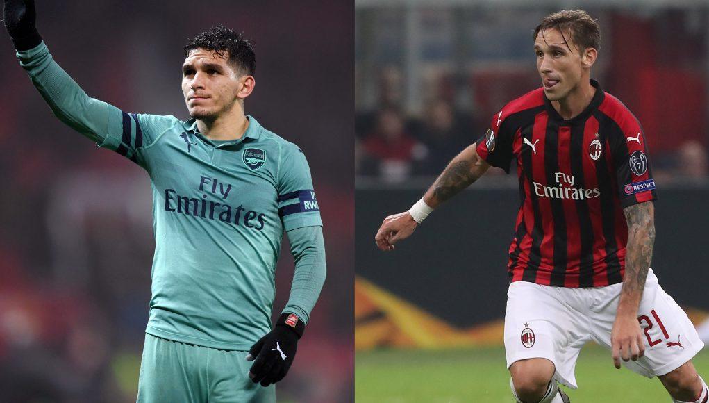Torreira Biglia AC Milan Arsenal