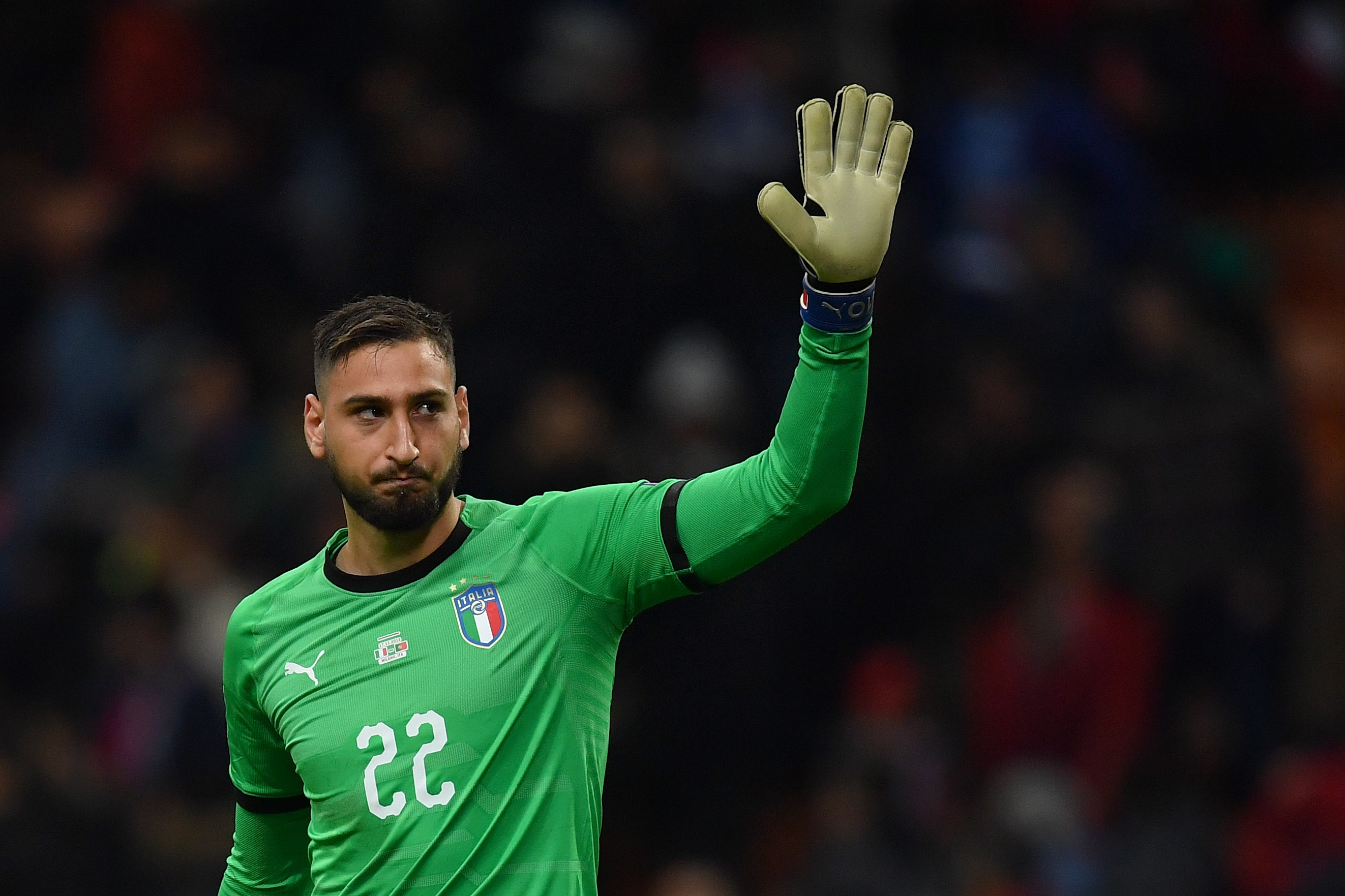 Donnarumma To Start For Italy Romagnoli On The Bench