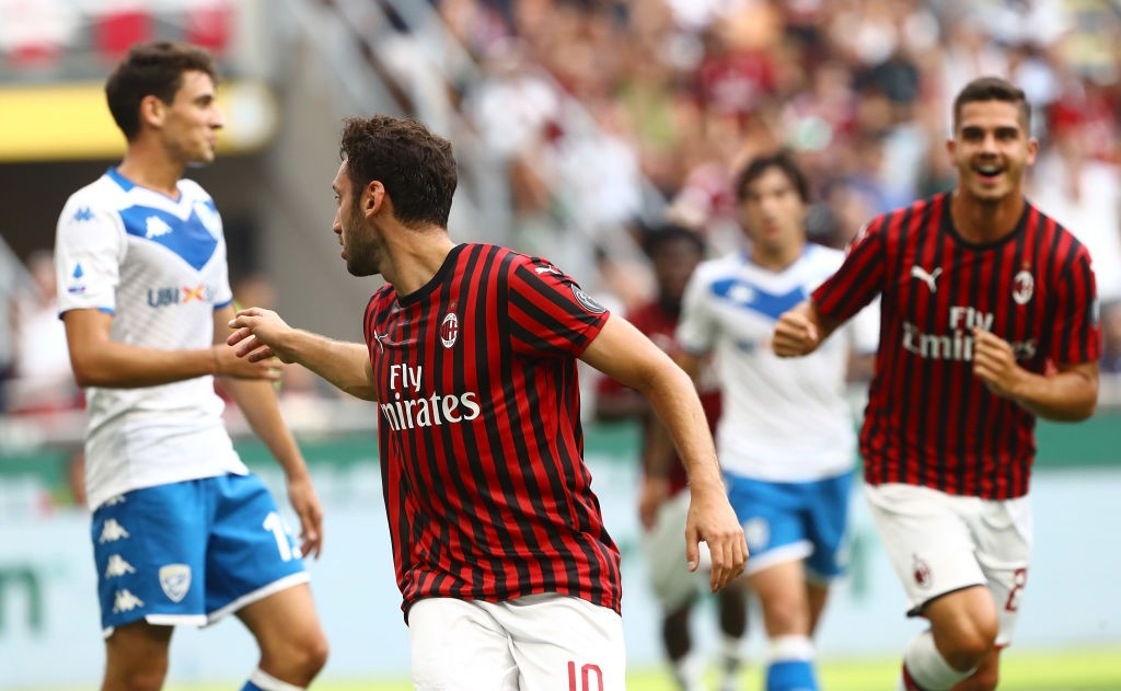 Milan vs brescia