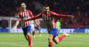 Angel Correa of Atletico Madrid