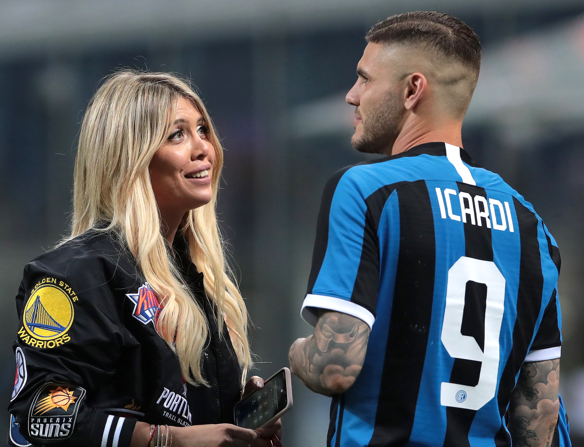 """Wanda Nara reveals background on Icardi to Milan: """"There was a possibility"""""""
