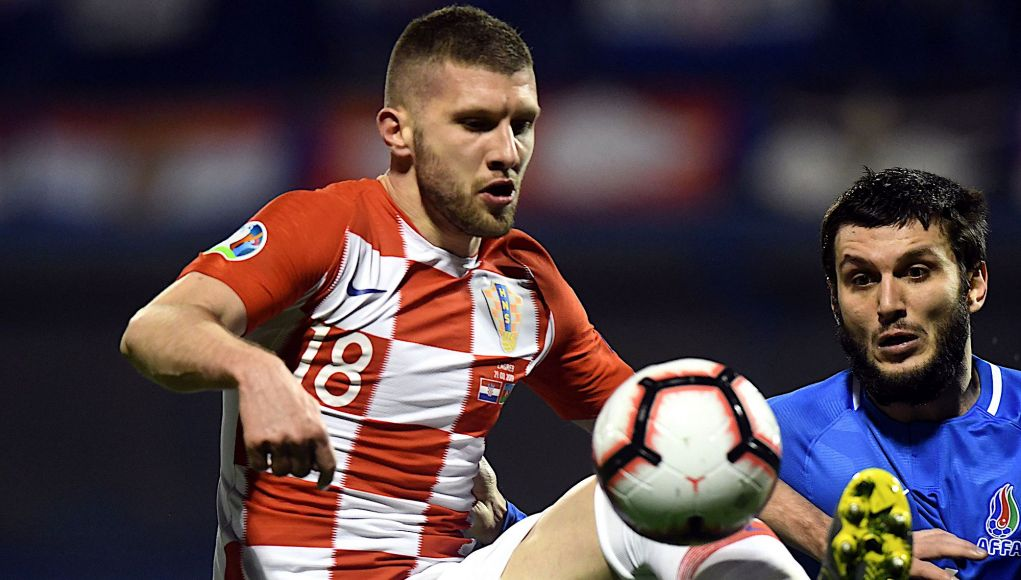 Croatia's forward Ante Rebic
