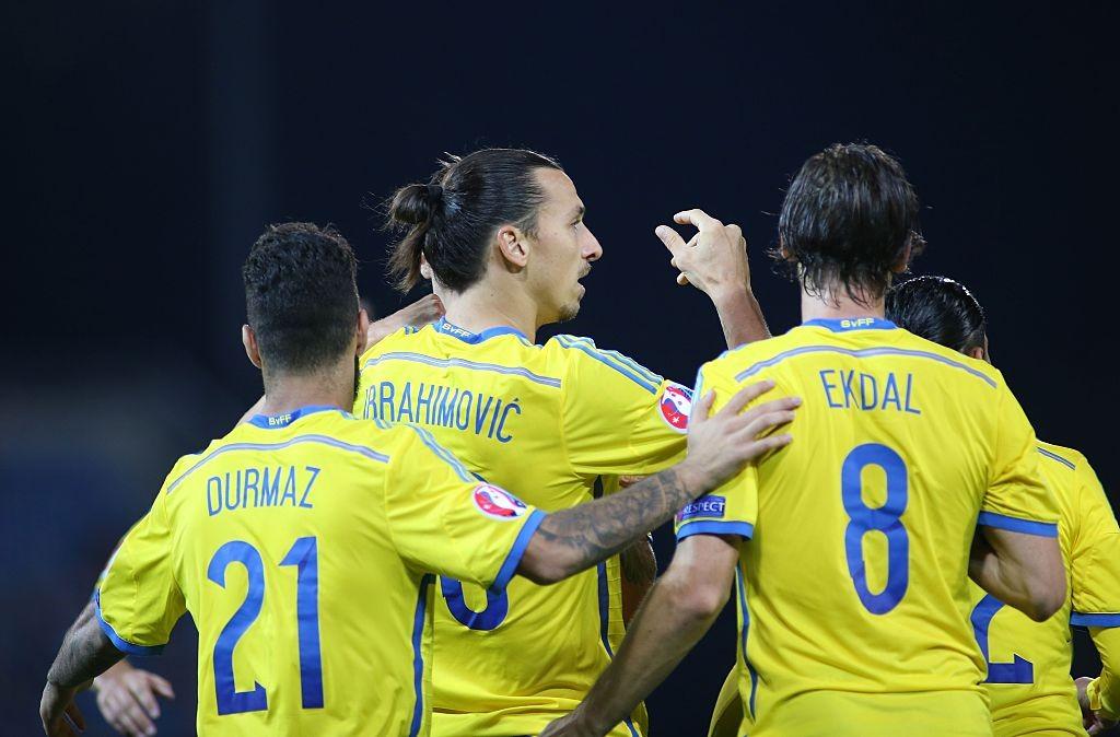 Swedish international ...