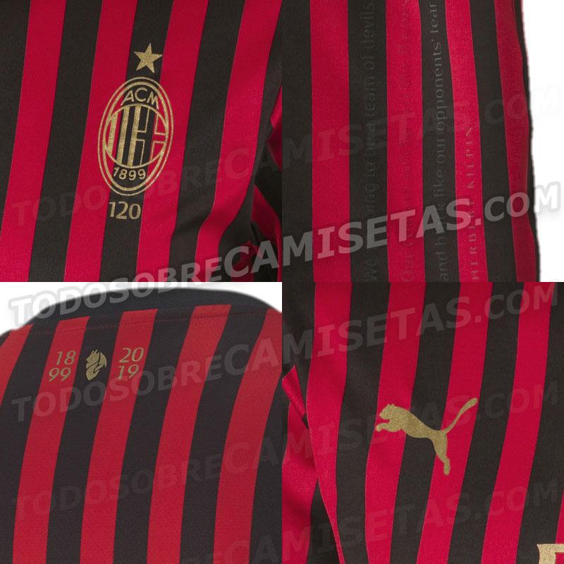 Ac Milan 120 Years Font