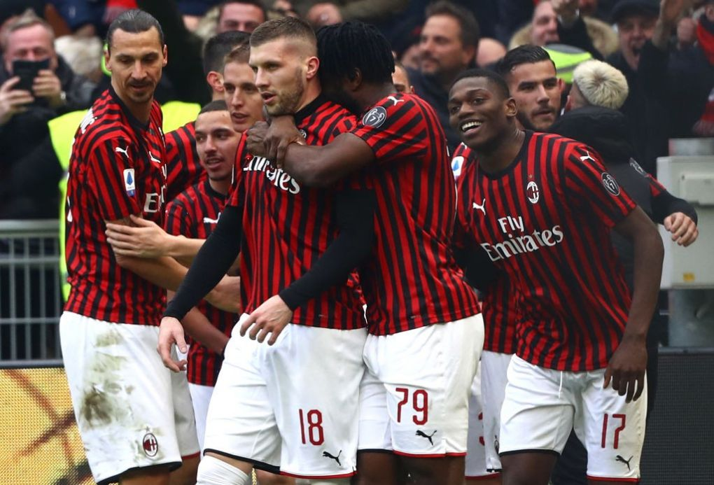 Watch Highlights Of Ante Rebic S Match Winning Performance For Milan Vs Udinese
