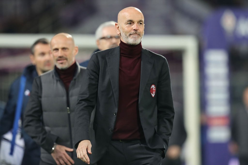 """Stefano Pioli blasts officials after draw with Fiorentina: """"Romagnoli  touched the ball"""""""