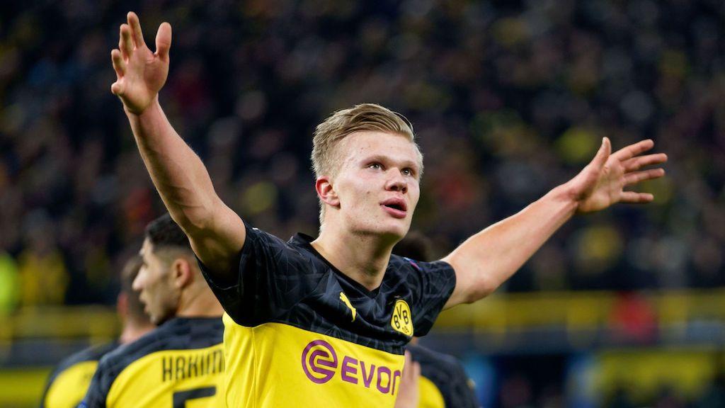 Video Borussia Dortmund Sensation Haaland Names Current