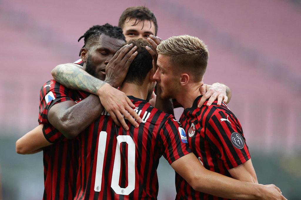 Player Ratings: AC Milan 2-0 Roma - Rebic's hard work decisive ...