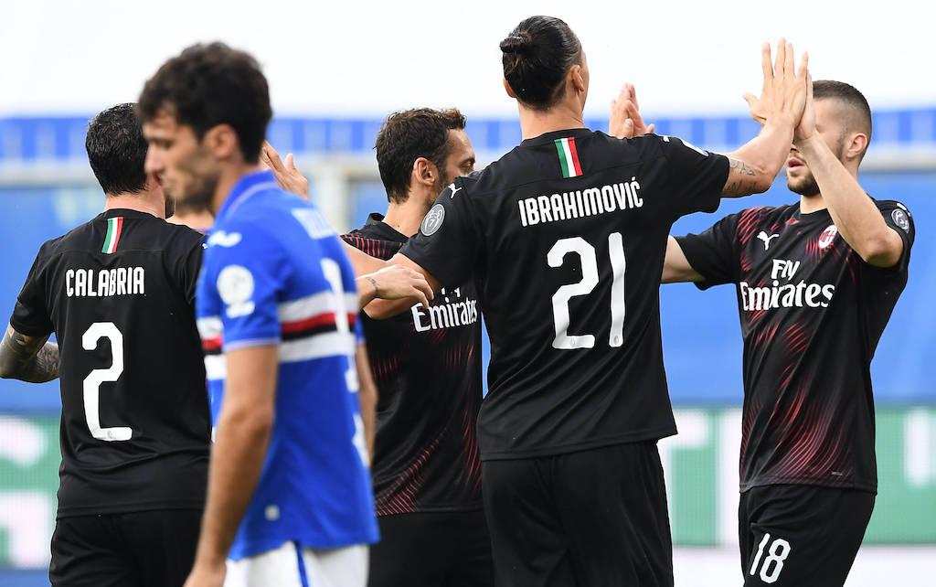 Sampdoria 1-4 AC Milan: Ibrahimovic at the double as Rossoneri put Samp to the sword