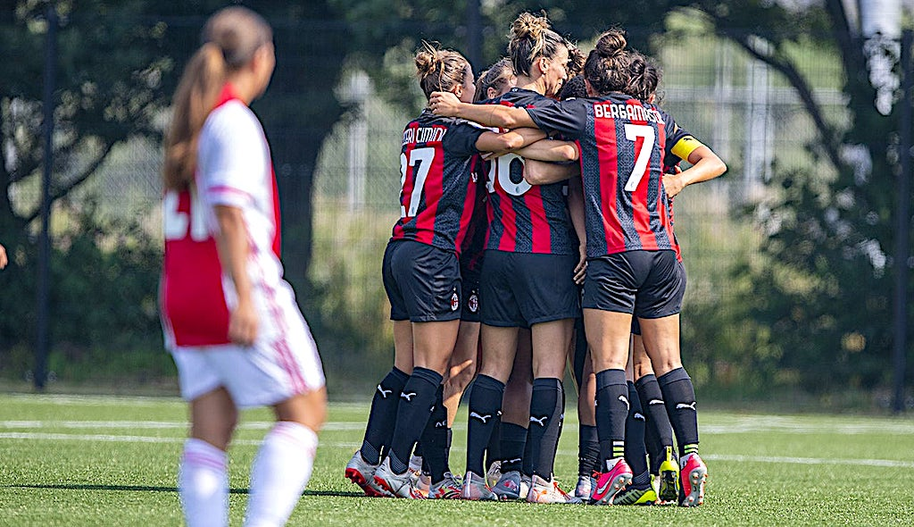 Ac Milan Women Beat Ajax Vrouwen 5 0 In Friendly The Highlights And What We Learned