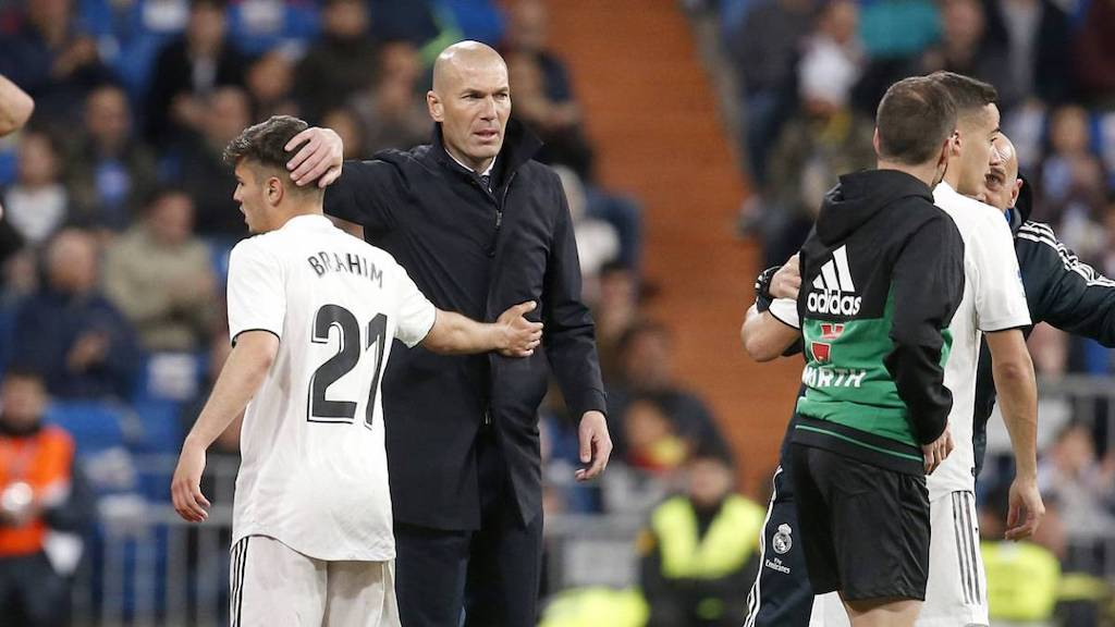 CM: Zidane asked Real Madrid not to lose Brahim - he will be watched  closely in Milan