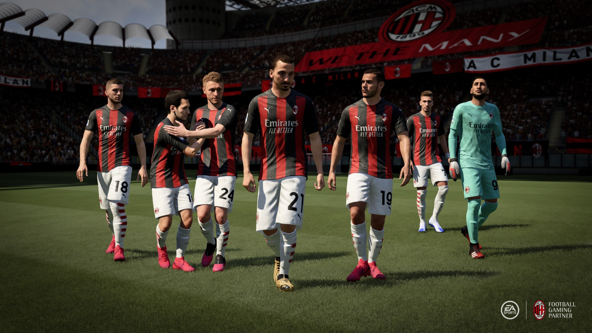Milan Squad Ratings For Fifa 21 Revealed Three Players Over 80