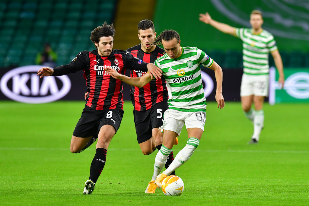 Gds Milan Player Ratings For Win Vs Celtic Four Players Praised But Tonali Struggles