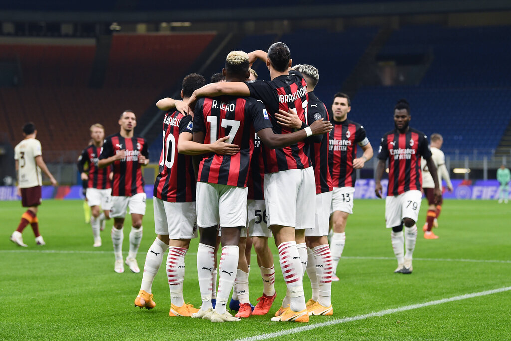 Player Ratings Ac Milan 3 3 Roma Leao Shines With Two Assists Ibra Scores Brace