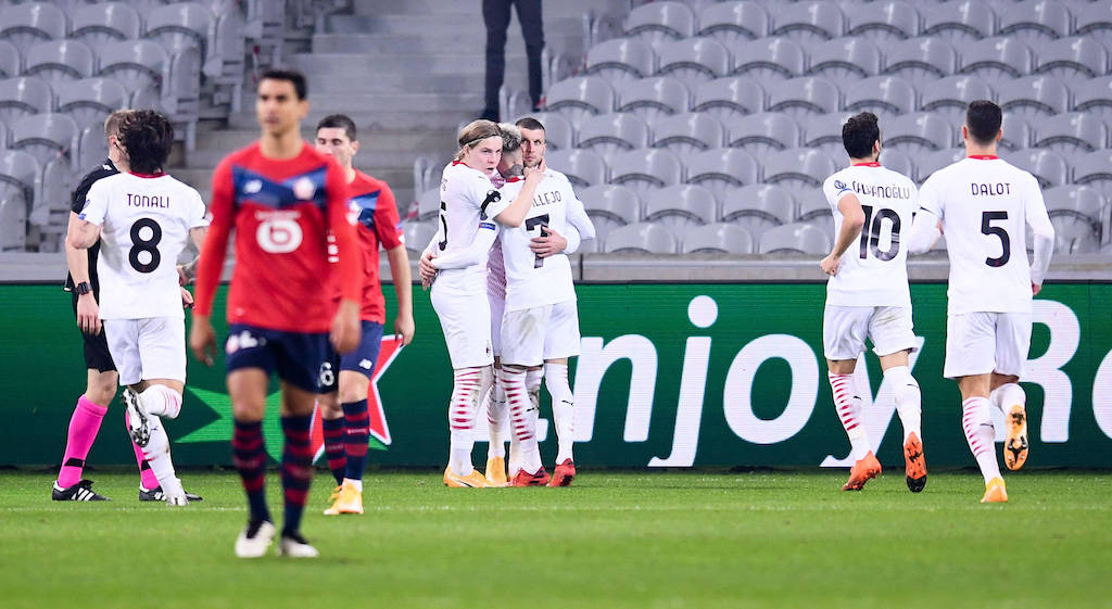 Lille 1-1 AC Milan: Rossoneri unable to take back top spot after being held  to frustrating draw