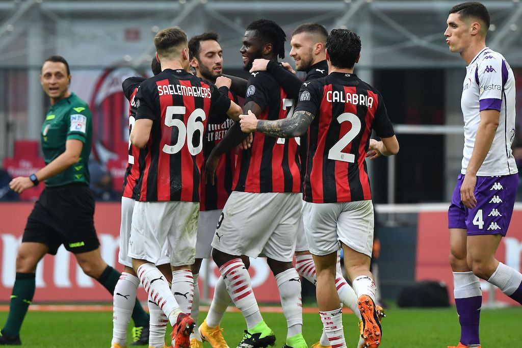 AC Milan 2-0 Fiorentina: Rossoneri extend lead at top of the table with  comfortable victory