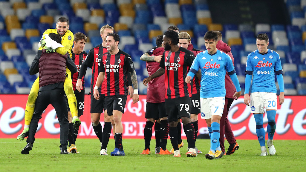 Serie A preview: AC Milan vs. Napoli - Team news, opposition insight, stats  and more