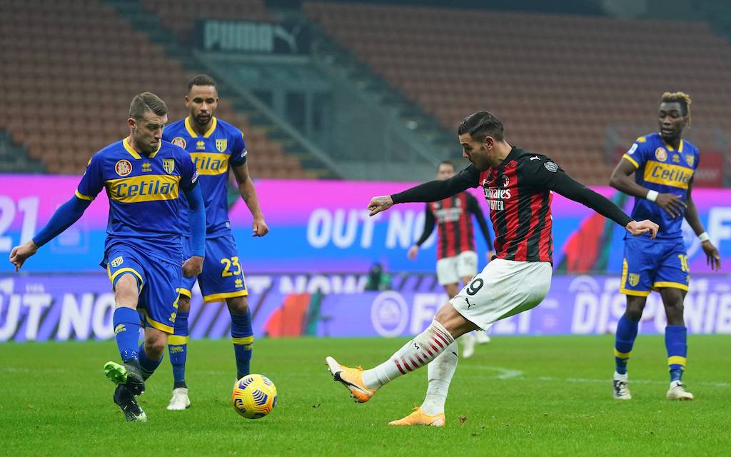 Watch: Theo Hernandez rescues a draw for Milan in the 91st minute with a  rocket of a strike