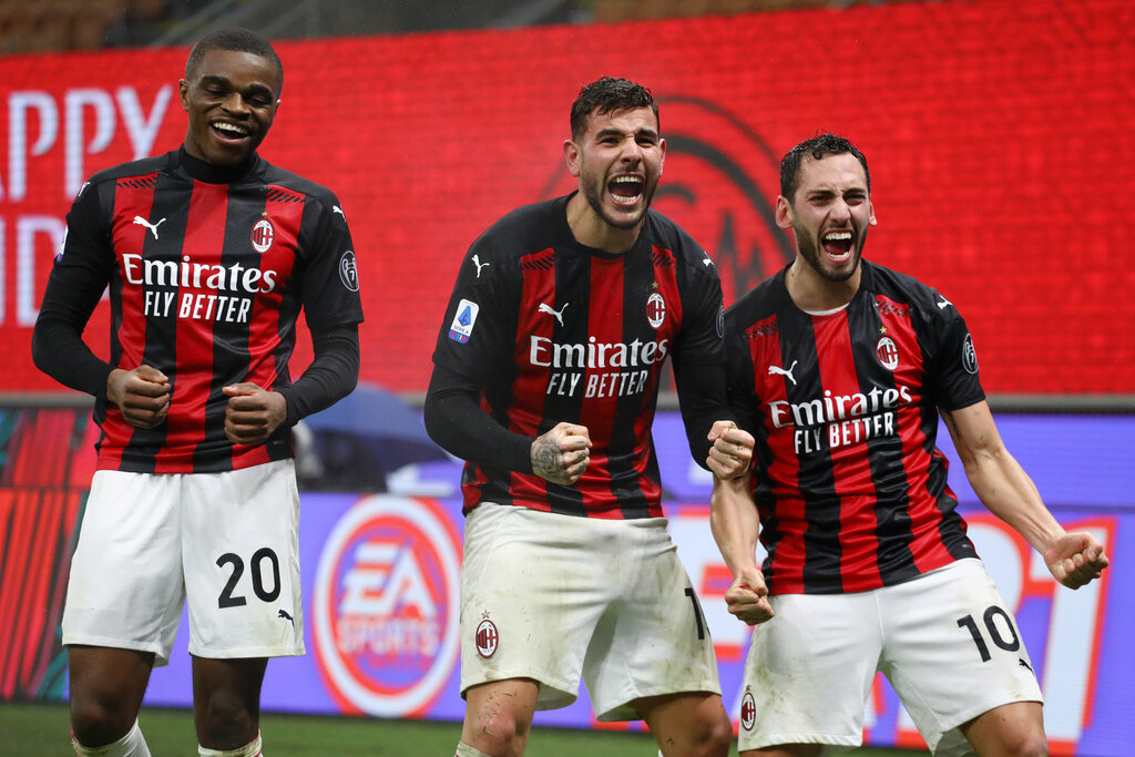 Player Ratings: AC Milan 3-2 Lazio - Calhanoglu behind everything; Theo  crucial again