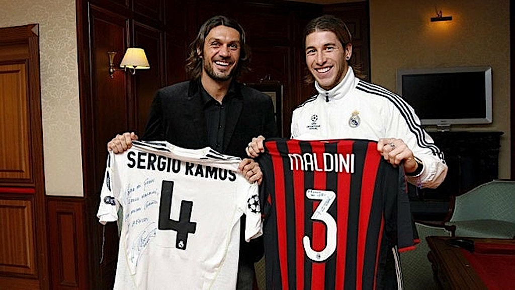 Pundit claims Real Madrid star Ramos would 'tremble' if he got a call from  Maldini