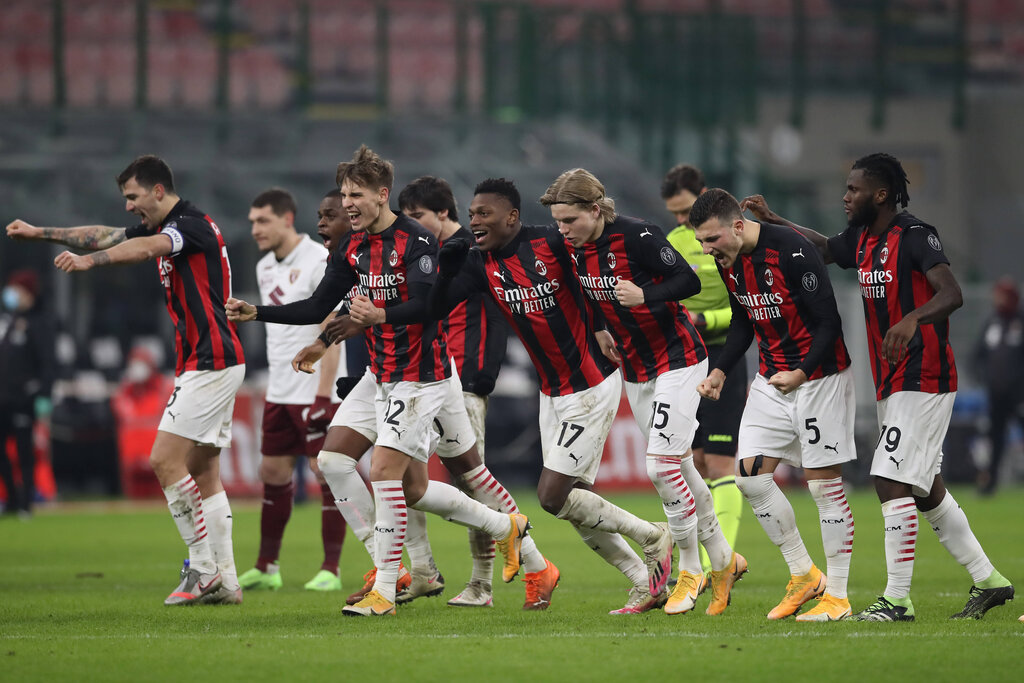 Player Ratings: AC Milan 0-0 Torino (5-4p) - Kalulu a beast; Tonali finally shines