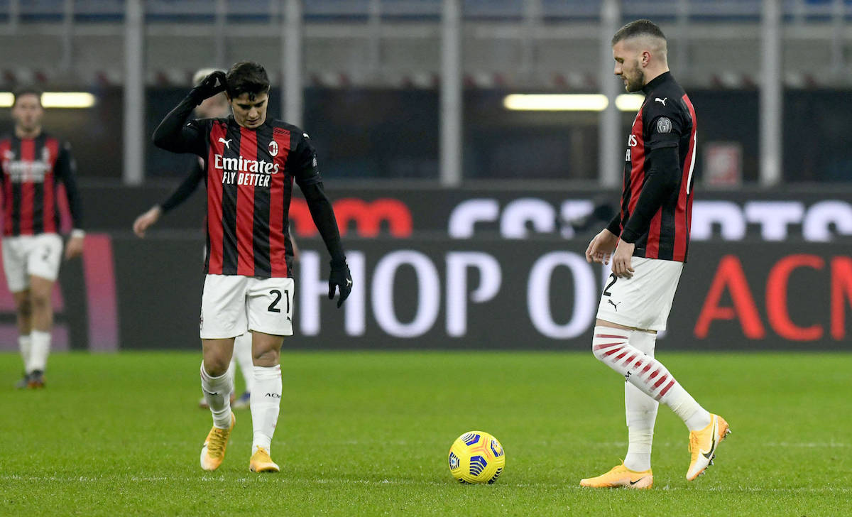 Sky: Probable Milan XI to face Lazio - no Ibra or Theo as Rebic could start  up front