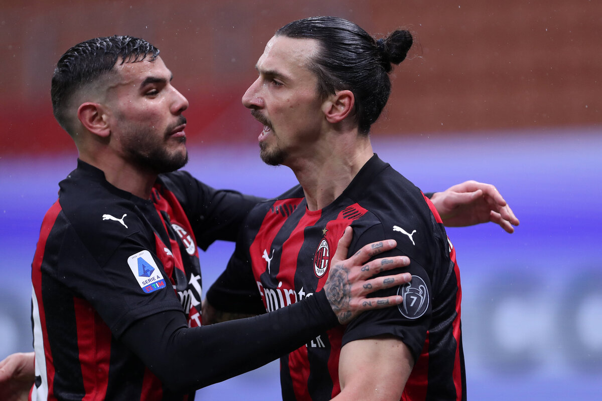 Reports: Milan could be missing Ibrahimovic and Theo Hernandez for Lazio clash - SempreMilan