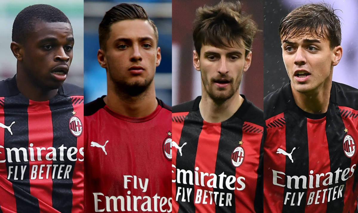 MN: Milan's plans are clear for young quartet Daniel Maldini ...