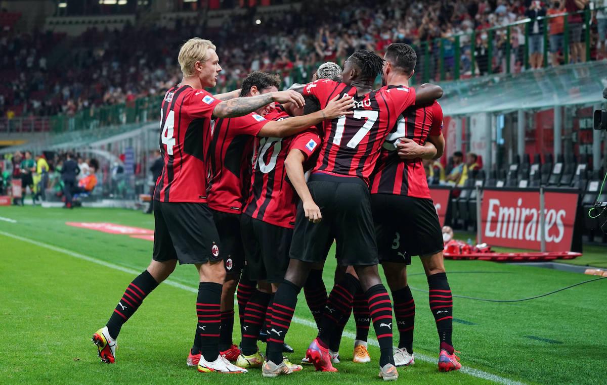 AC Milan 4-1 Cagliari: Giroud brace and Tonali free-kick fire rampant Rossoneri to win