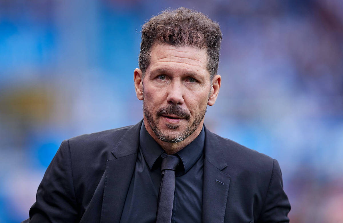 Diego Simeone uses four flattering adjectives to describe Milan but insists  Atletico 'are calm'